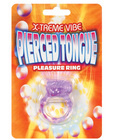 Extreme vibe pierced tongue  - purple