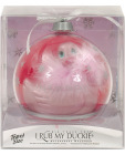 "I Rub My Duckie ""Paris"" Travel Size Holiday Ball - Rose"