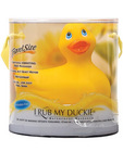 I rub my duckie massager travel size - yellow in new gift package