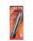 Vibe me multi speed massager - luster black waterproof
