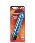Vibe me multi speed massager - luster blue waterproof