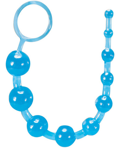 Basic Anal Beads - Blue Sex Toy Product