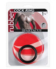 1.25in rubber cock ring - black