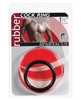 1.5in rubber cock ring - black