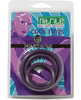 Nitrile cock  ring set - purple pack of 3