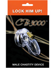 Cb-3000 Male Chastity Device 3 inch Clear Cock Cage Sex Toy Product