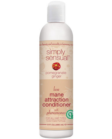 Simply sensual hair conditioner w/pheromones - pomegranate