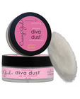 Crazy girl pheromone shimmery diva dust - .5 oz gold