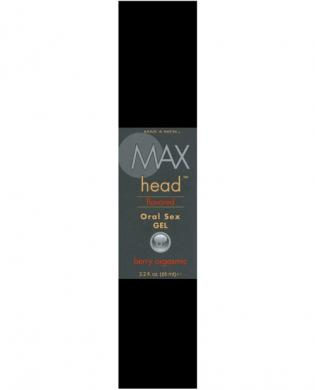 Max Head Flavored Oral Sex Gel   - Berry Orgasmic 2.2 oz Sex Toy Product