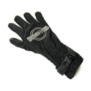 Five Finger Massage Glove - Right Hand Black