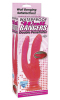 Waterproof Wall Bangers Double Penetrator - Pink Sex Toy Product Image 3