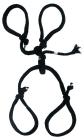 Fetish Fantasy Series Silk Rope Hogtie