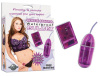 Waterproof Remote Control Bullet - Purple