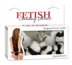 Fetish Fantasy Series Furry Love Cuffs - Zebra