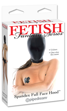 Fetish Fantasy Series Spandex Full Face Hood
