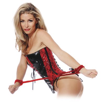 Fetish Fantasy Silk Rope Love Cuffs