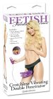 Fetish Fantasy Series Crotchless Vibrating Double Penetrator