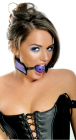 Neoprene Breathable Ball Gag - Purple