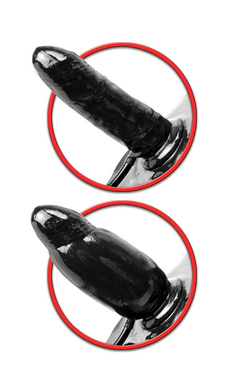 Fetish Fantasy Series Inflatable Vibrating Strap-On
