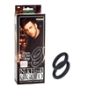 Nick Hawk Gigolo Stay Hard Rings 2 ct - Black