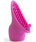 Vibratex silicone mini magic attachment - pink