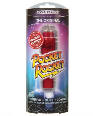 Holiday edition pocket rocket - red