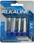 Doc johnson alkaline batteries - aa 4 pack Sex Toy Product