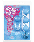 P 3 power balls - baby blue