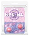 Ben wa balls pearlescent finish pink