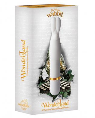Wonderland the white wabbit 10 function - white