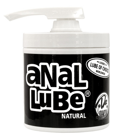 Anal Lube Natural 4.5 Oz Pump 	 Sex Toy Product