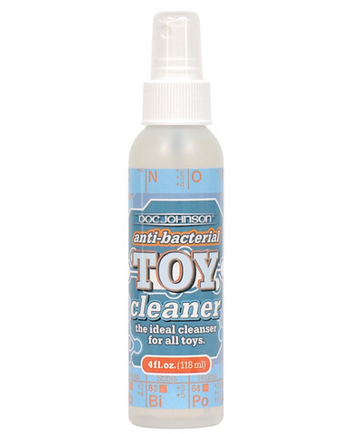 Doc johnson anti-bacterial toy cleaner - 4 oz
