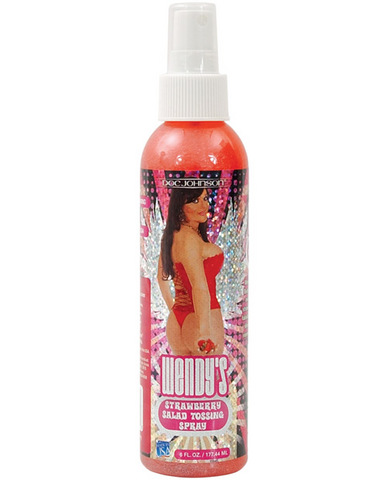 Wendy williams salad tossing spray - 6 oz bottle strawberry