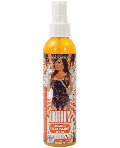 Wendy williams salad tossing spray - 6 oz bottle lollipop