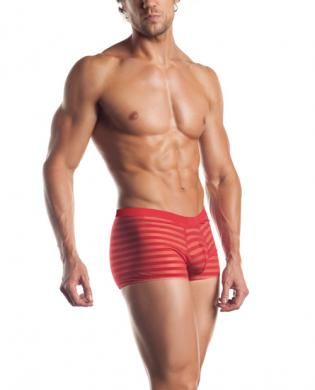 Excite extreme series striped mesh boxer red o/s