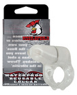 Evolved boss cocks pleasure ring the collar - clear/white