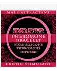Evolved pheromone bracelet male attractant - pink