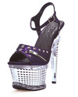 Ellie shoes zane 6in textured platform purple seven