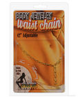 Waist chain charmer - gold