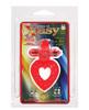 Ring of xtasy red rabbit heart vibrating c-ring