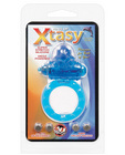 Ring of xtasy vibrating c-ring - blue dolphin