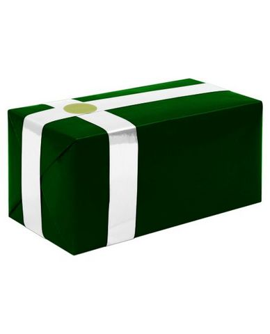 Gift wrapping for your purchase (forest green w/white ribbon)-extra day to ship