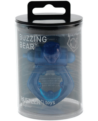Hustler buzzing bear - blue