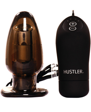 Hustler provocative pleasure plug - smoke