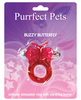Purrrfect pet cockring clit stimulator butterfly - magenta