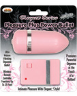 Elegant wireless power plus bullet - pink