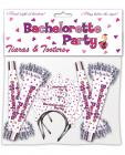 Bachelorette party tiara's and tooters - 8 pack