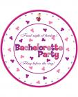 Bachelorette party 10in plates - 10 pack