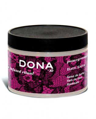 Dona by jo bath salts 9 oz - pomegranate