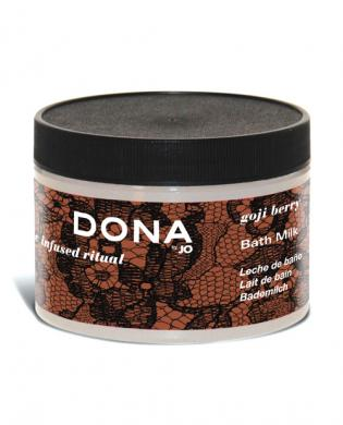 Dona by jo bath milk 8 oz - goji berry